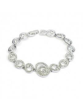 Bracelet with diamantes