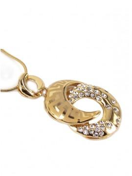 SALE - Classic Knot Pendant Necklace
